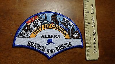 Chevak Alaska Search And Rescue Obsolete Patch Bx 11 #23