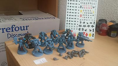 10X Pack Lobos Espaciales Space Wolves Warhammer 40K Con Calcomanias