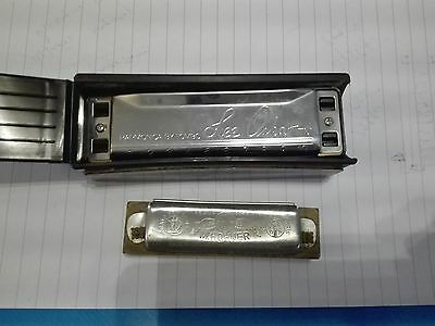 Lot 2 Harmonicas Lee Oscar and M.Hohner piccolo