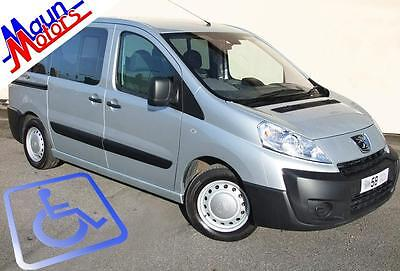 2008 58  Peugeot Expert HDi Tepee Comfort Independence WAV Wheelchair Accessible