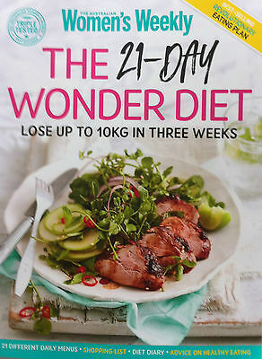 The Australian Womens Weekly: The 21 Day Wonder Diet - Latest Cook Book