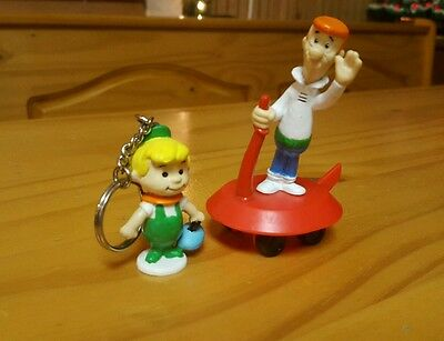 Vintage Applause Jetsons (George, Elroy) toy Figure lot