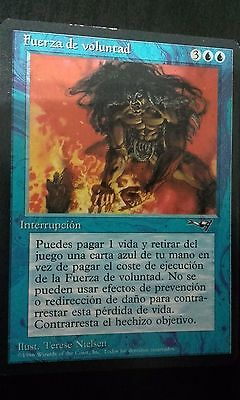 MTG Force of Will. Fuerza de Voluntad. ALIANZAS. Castellano ¡GRAN OPORTUNIDAD!