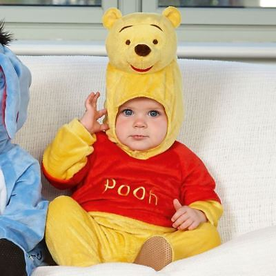 Disney Baby Winnie the Pooh Romper with Hood 18-24 mths - Toddler Babies Costume