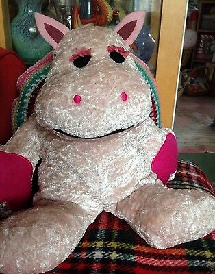 Very Large 45cms High George From Vintage Kids TV Show  Rainbow Soft Toy