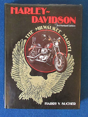 Harley Davidson - The Milwaukee Marvel - by Harry V Sucher - 3rd Edition - 1985