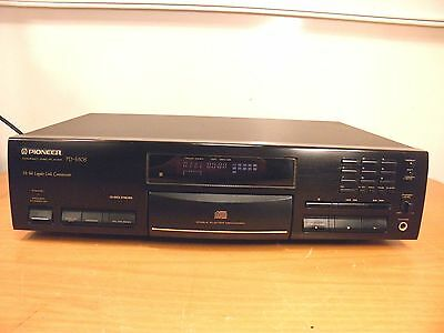 Reproductor CD Player PIONEER PD-S505 Compact Disc Player Leer Descripcion.
