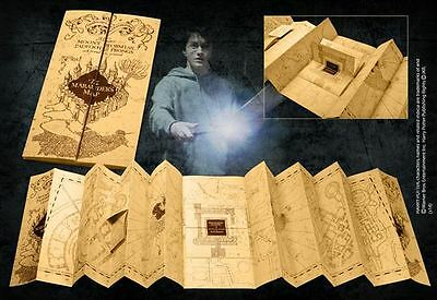 HARRY POTTER MAPPA MALANDRINO marauder's map 1/1 UFFICIALE PLAN NOBLE HOGWATS