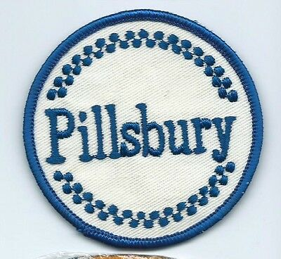 Pillsbury baking products co patch 2-7/8 dia #784