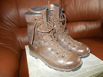 Lowa Elite Jungle Boots Super Grade Brown Boots Size 12