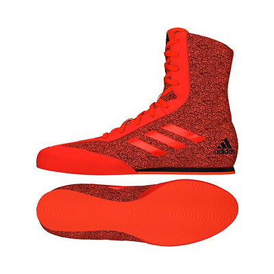 Adidas Box Hog Plus Boxing Boots Red Black Sparring Fighting Mens Womens Shoes