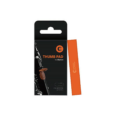 CIEL Thumb Pad Finger Rest Protect Genuine Leather Key Accessories for Clarinet