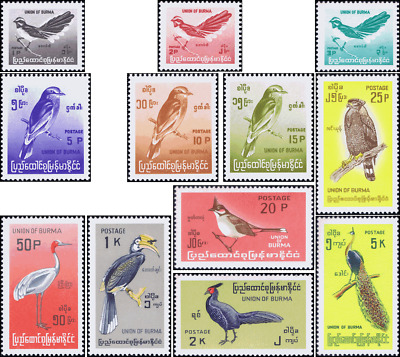 Stamps: native birds, modified picture formats  (MNH)