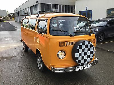 VW Bay Window T2 Camper Day Van 1978