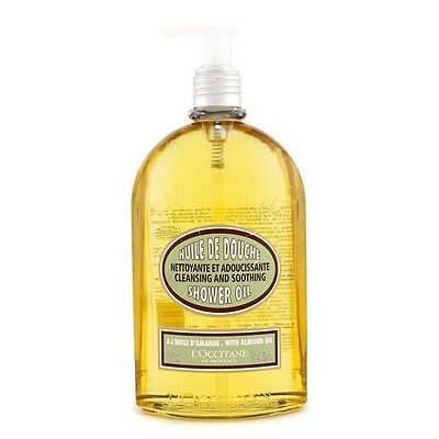 L'Occitane Almond Cleansing & Soothing Shower Oil 500ml Womens Skin Care
