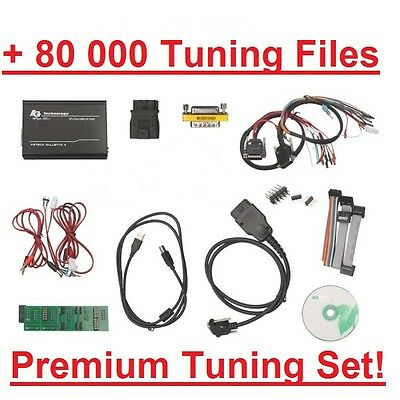 FGTECH Galletto 4 Master v54 + 80000 chip tuning files - complete chiptuning set
