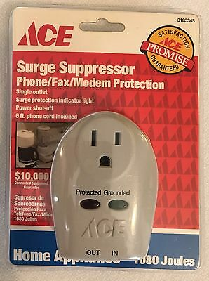 New Sealed Ace Outlet Home Appliance Surge Suppressor Unopened