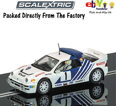NEW SCALEXTRIC Slot Car  Ford RS2000 Stig Blomqvist. 1986 Sweden Rally  C3493