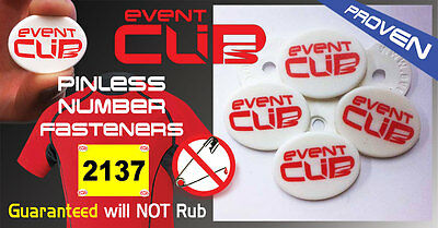 None MAGNET Bib Number Fastener SnapLock World's No1 Seller EventClip.net