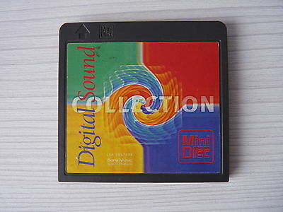 Minidisc Sample Demo Digital Sound Collection Rare