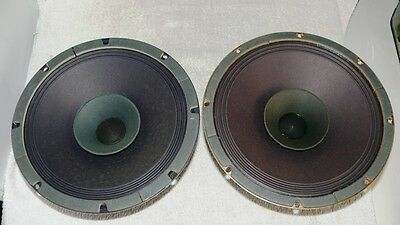 Vintage Full Range Leslie speakers