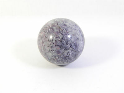 Tourmaline in Lepidolite stone sphere (35 mm) from Russia