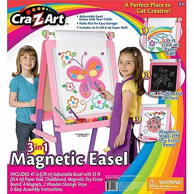 Cra-Z-Art 3-in-1 Magnetic Fashion Easel