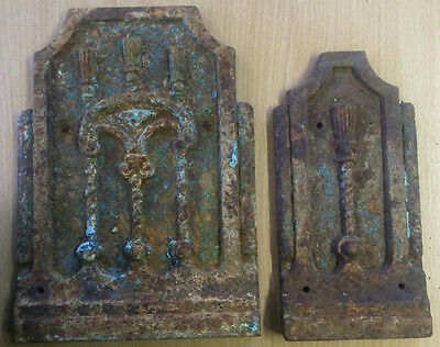 Reclaimed Cast Iron Wall Plaques