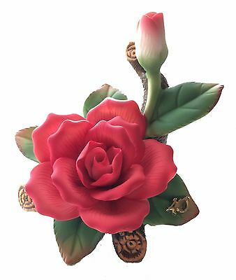 40th Anniversary Porcelain Rose from Roman, Inc. NEW SKU 42301
