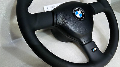 BMW M3 E30 M tech 2 370mm Small Steering Wheel Leather Lenkrad OEM KBA 70121 New