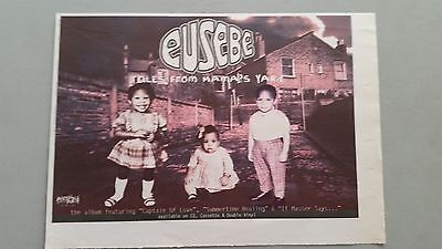 EUSEBE TALES FROM ...  original magazine Advert clipping A4 Size @%