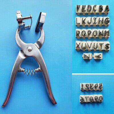 "Standard Tattoo Plier Kit 3/8"" / Identification Marking/ Farm Animal / Livestock"