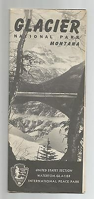 Glacier National Park, Montana, United States Department of Interior, 1958