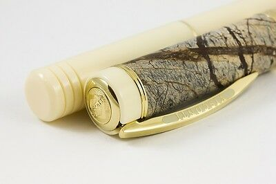 VISCONTI MILLIONAIRE FOREST BROWN LTD EDITION 15 of 988 FOUNTAIN PEN/ROLLERBALL