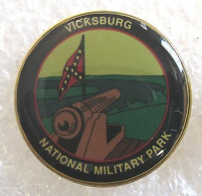 Vicksburg National Military Park Souvenir Collector Pin-Mississippi