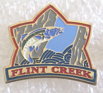 Flint Creek Water Park & Campground Mississippi Travel Souvenir Collector Pin