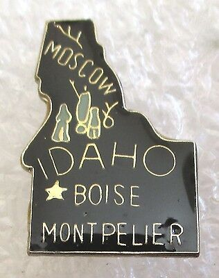 State of Idaho Map Travel Souvenir Collector Pin