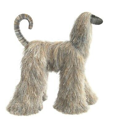 Collectibles Animals, Brindle Afghan Hound, Cute Plush Toy, Stuffed Animals,