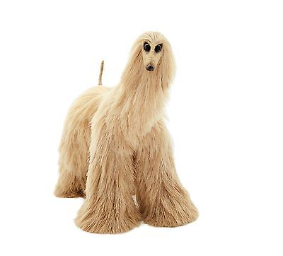 Collectibles Animals, Cream Afghan Hound, Cute Plush Toy, Stuffed Animals,