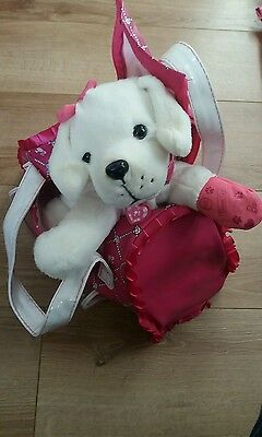 Barbie Hug N Heal Pet Doctor vet Dog Playset Official bag and puppy& accessories