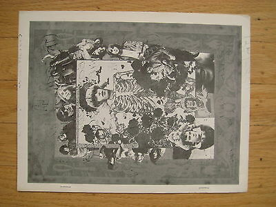 FILLMORE POSTER era GRATEFUL DEAD NEWSLETTER 1967 OLOMPALI SUNDAY TIMES