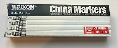 White China Markers Grease Pencils