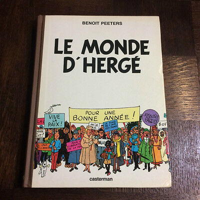 Le Monde D Herge - Peeters - Edition Originale