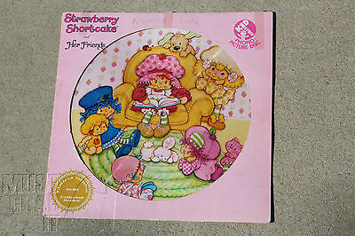 Strawberry Shortcake & Her Friends Music LP Nursery Wall Hanging