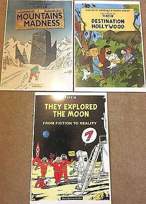 Parody Tintin Cover Posters - Moon, Hollywood BUY INDIVIDUALLY Herge Prints