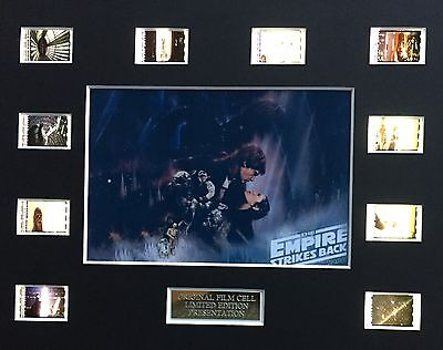 Star Wars - The Empire Strikes Back 35mm Film Cell Display - cells as shown
