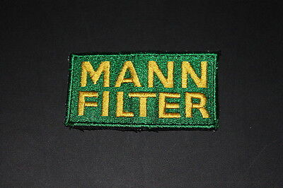 -09 Mann Filter Air Filter Luftfilter Motorrad Aufnäher Patch Bügler Application
