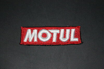 -10 Motul Öl Oil Lube Lubricant Motorrad Aufnäher Patch Bügler Application Race