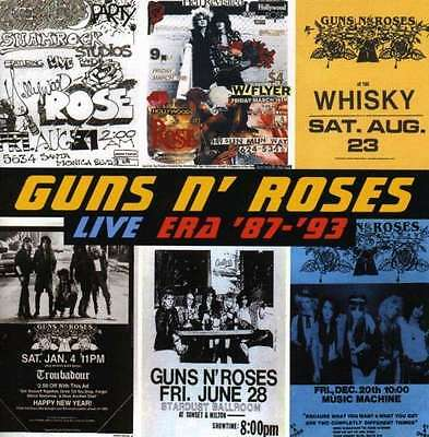 Live Era '87/'93 [2 CD] - Guns N' Roses GEFFEN RECORDS
