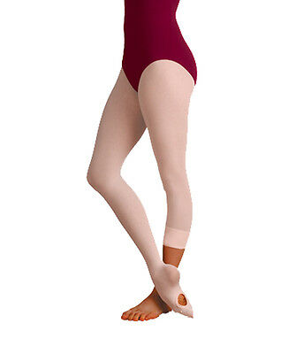 Bloch Women's Pink Convertible Tights - Size Petite/Small